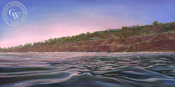 Morning Glass, a California oil painting by Ken Goldman. HD giclee art prints for sale at CaliforniaWatercolor.com - original California paintings, & premium giclee prints for sale