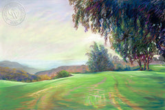Torrey Pines, California art by Ken Goldman. HD giclee art prints for sale at CaliforniaWatercolor.com - original California paintings, & premium giclee prints for sale
