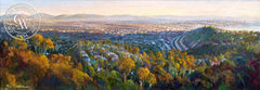 Ken Goldman-Mount Soledad Vista, an original California oil painting for sale, original California art for sale - CaliforniaWatercolor.com