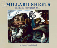 Millard Sheets, The Early Years (1926 - 1944), a California art book on Millard Sheets, CaliforniaWatercolor.com