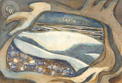 See Through Fragment, California art by Phil Dike. HD giclee art prints for sale at CaliforniaWatercolor.com - original California paintings, & premium giclee prints for sale