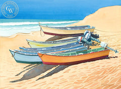 181 Baja, California art by Steve Santmyer. HD giclee art prints for sale at CaliforniaWatercolor.com - original California paintings, & premium giclee prints for sale