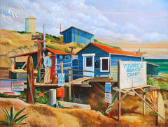 Steve Santmyer - Salt Creek, an original California oil painting for sale, original California art for sale - CaliforniaWatercolor.com
