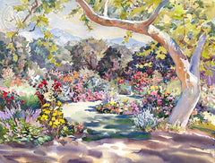 Spring in Descanso, California art by Glen Knowles. HD giclee art prints for sale at CaliforniaWatercolor.com - original California paintings, & premium giclee prints for sale