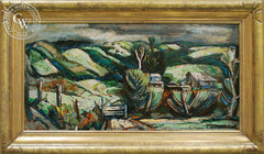 Phil Dike - Chino Hills, c. 1940's, an original California oil painting for sale, original California art for sale - CaliforniaWatercolor.com