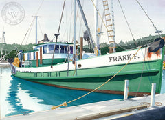 Frank F., California art by Steve Santmyer. HD giclee art prints for sale at CaliforniaWatercolor.com - original California paintings, & premium giclee prints for sale