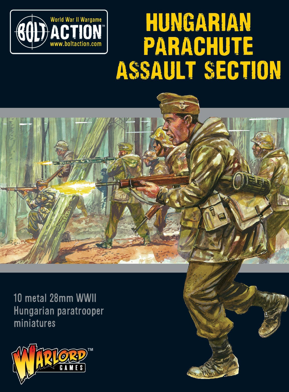 Hungarian Parachute Assault section