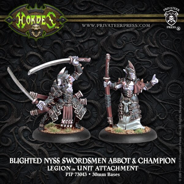 Blighted Nyss Swordsman Abbot & Champion