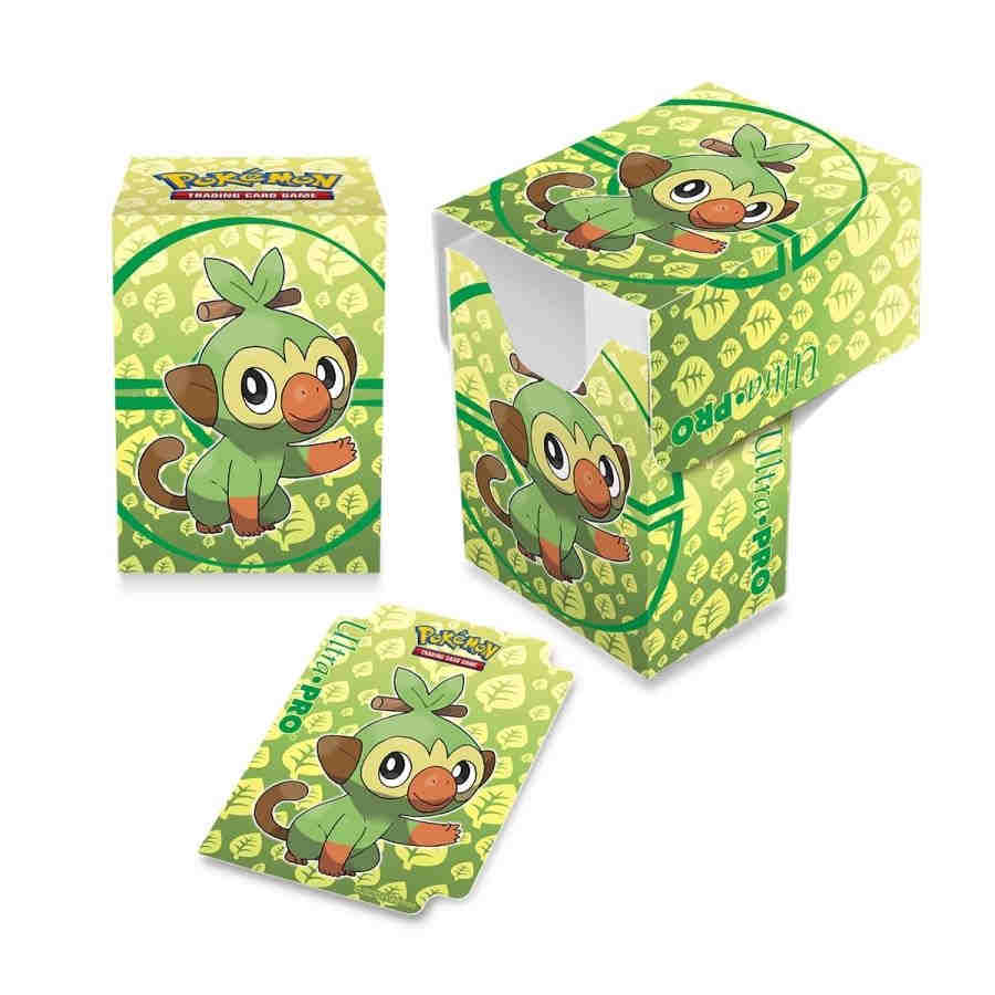 ULTRA PRO: POKEMON DECK BOX - SWORD AND SHIELD: GALAR STARTERS - GROOKEY