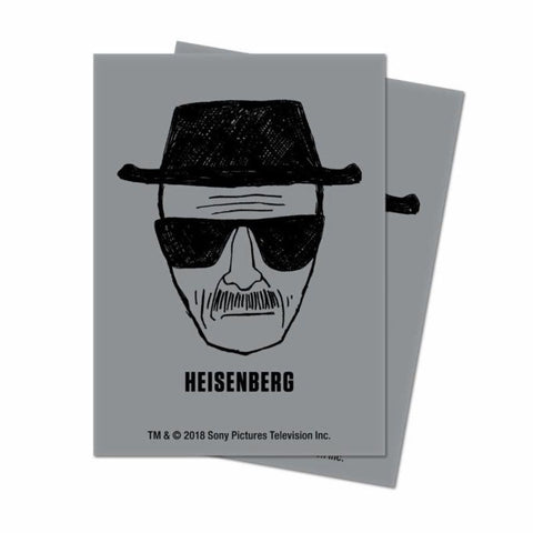 ULTRA PRO: BREAKING BAD DECK PROTECTOR - HEISENBERG STANDARD 100CT