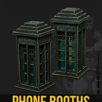 Batman Miniature Game: Phone Booths