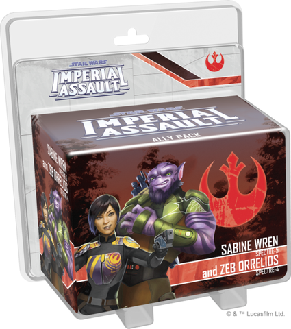 Sabine Wren and Zeb Orrelios Ally Pack