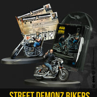 Batman Miniature Game: Street Demonz Bikers
