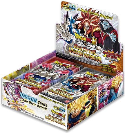 DBS TCG: UNISON WARRIOR SERIES 1: RISE OF THE UNISON WARRIOR BOOSTER BOX