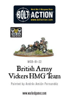 British Army Vickers MMG Team