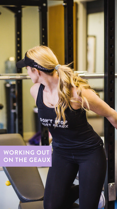 3 Tips For Working Out On The Geaux!
