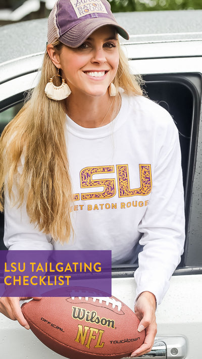 LSU Tailgating Checklist in Baton Rouge