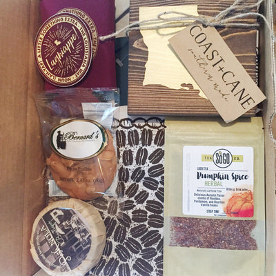 Take a peek inside our November Lagniappe Box
