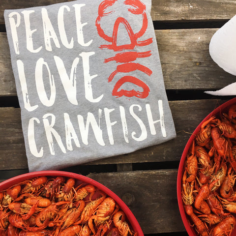 Peace Love Crawfish by SFT