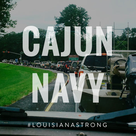 Cajun Navy Louisiana Strong by SFT