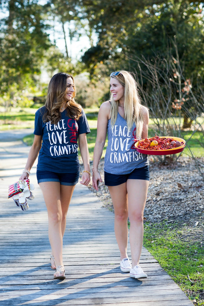 Peace Love Crawfish Tank by SFT