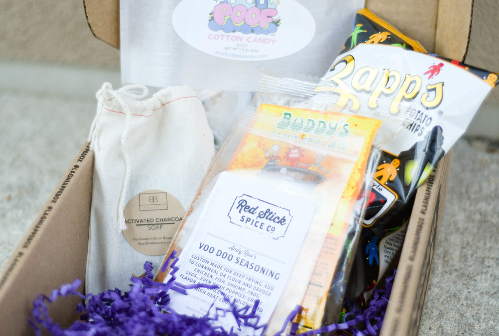October Lagniappe Box on All Things Keki Blog Post