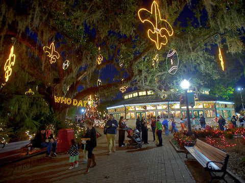 Christmas in the Oaks New Orleans, Louisiana