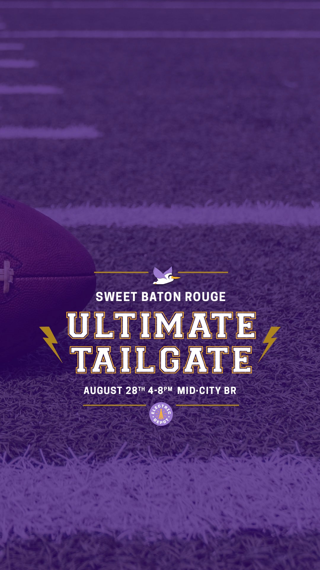 Sweet Baton Rouge Ultimate Tailgate at Electric Depot