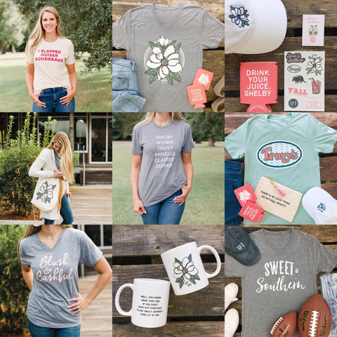 Sweet and Southern Steel Magnolias Collection