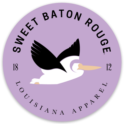 Sweet Baton Rouge® Pelican Badge  | Sticker