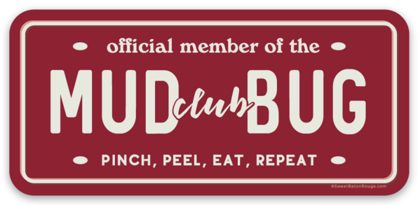 Mud Bug Club | Sticker