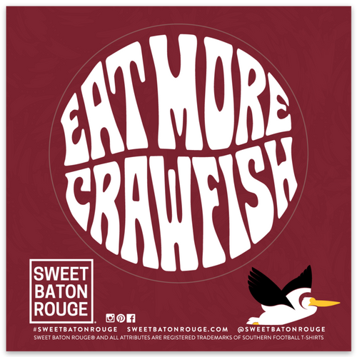 Eat More Crawfish | Sticker