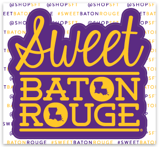Sweet Baton Rouge® sticker by shopSFT