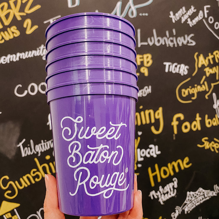 My Sweet Baton Rouge Stadium Cup Pack - 16 oz.