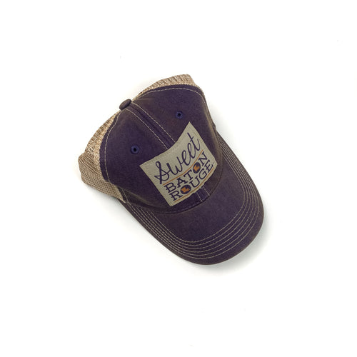 Sweet Baton Rouge®  Old Trucker Hat