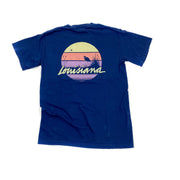 Louisiana Sunset Pocket T-Shirt