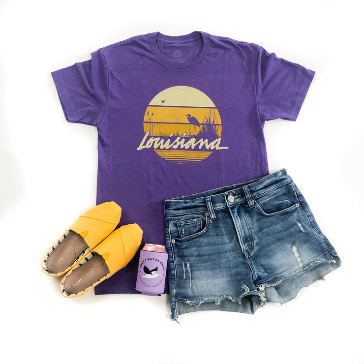 Louisiana Sunset Gameday T-shirt