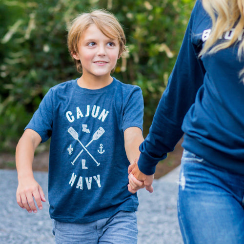Children's Youth Cajun Navy | Louisiana Strong | Navy