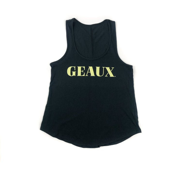 "Don't Stop Just Geaux ""Geaux"" Tank"