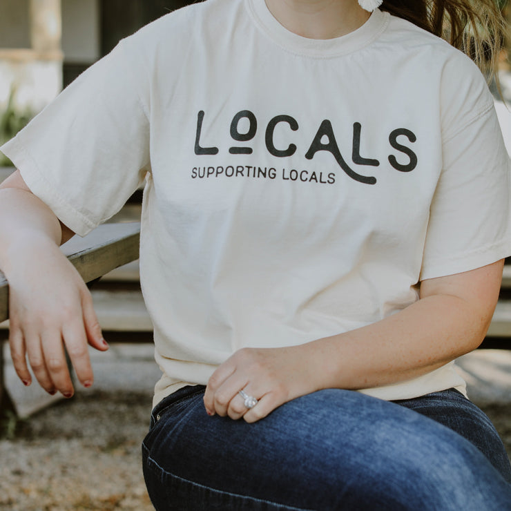 Locals Supporting Locals T-Shirt