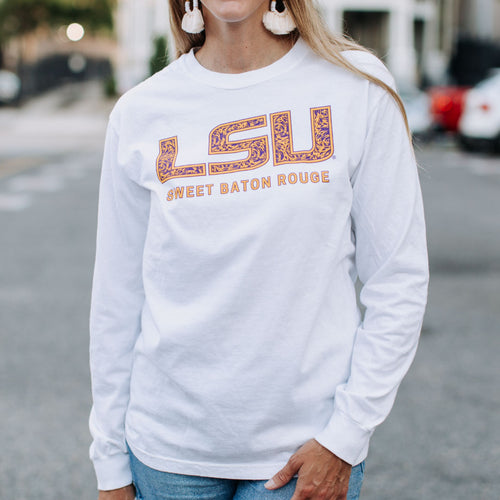 LSU Sweet Baton Rouge Long Sleeve T-shirt