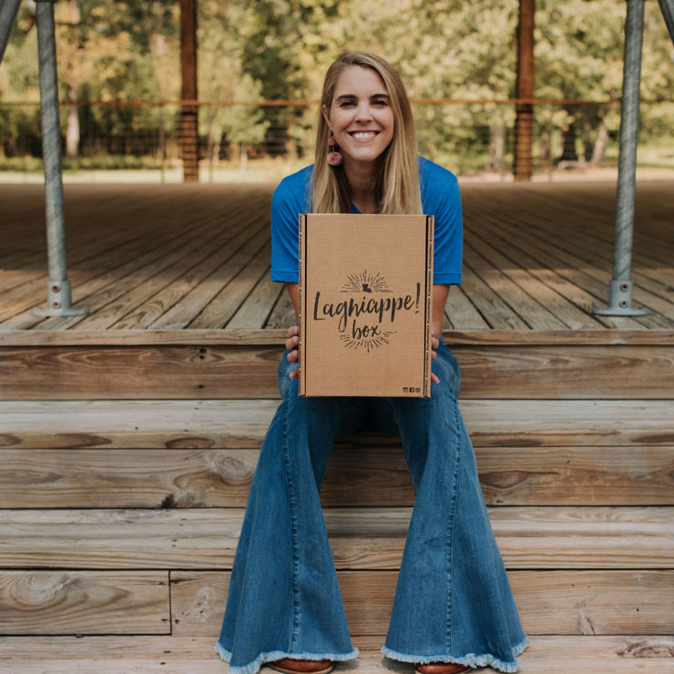 Louisiana Lagniappe Box themed Subscription Box