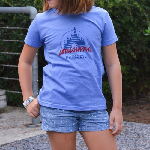 Childrens Louisiana Princess Tee