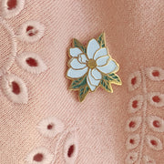 Southern Magnolia Enamel Pin | Sweet and Southern