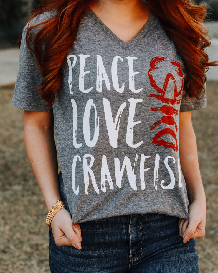 Peace Love Crawfish©