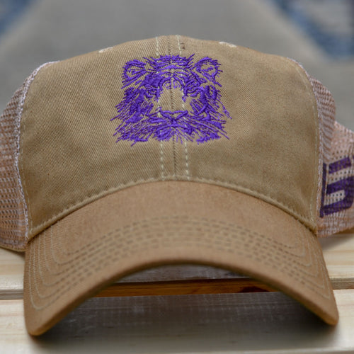 LSU Tiger Trucker Hat!