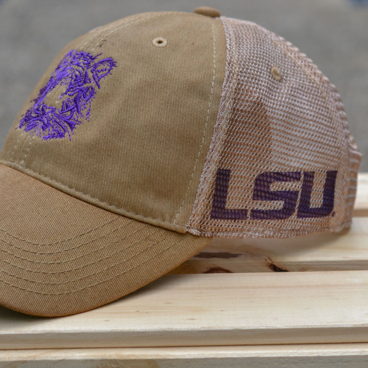 LSU Tiger Trucker Hat