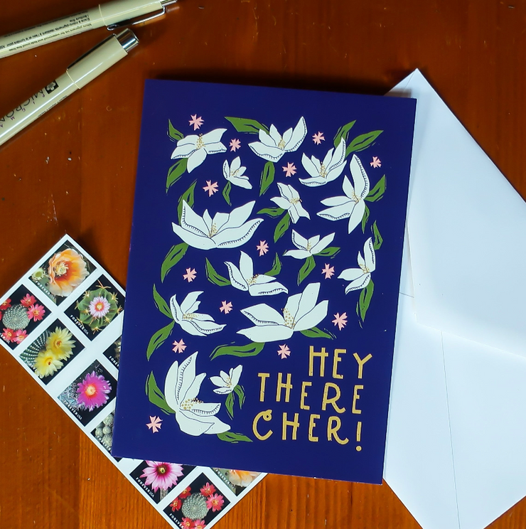 Hey There Cher! Greeting Card