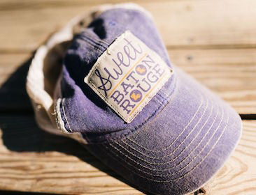 Sweet Baton Rouge Old Trucker Hat