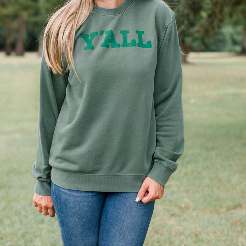 Y'all Sweatshirt | Louisiana Christmas T-Shirts | by SFT